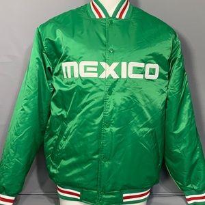 MAJESTIC 2008 Mens MEXICO Baseball Jacket GREEN XL